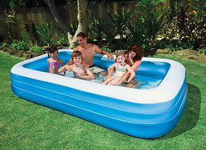 Blow Up Pool Family Inflatable Pool Garden Swimming Pool Swimming Pools