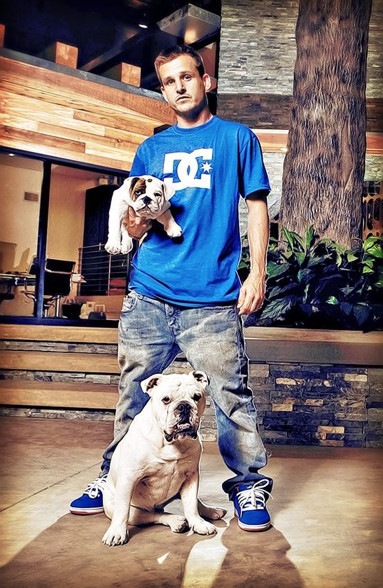 Rob Dyrdek Meaty And Beefy Celebrity Bulldog Club Claudine