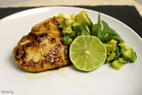 Chickadee Says: Pan Fried Honey-Lime Chicken with Spicy Pineapple-Avocado Relish