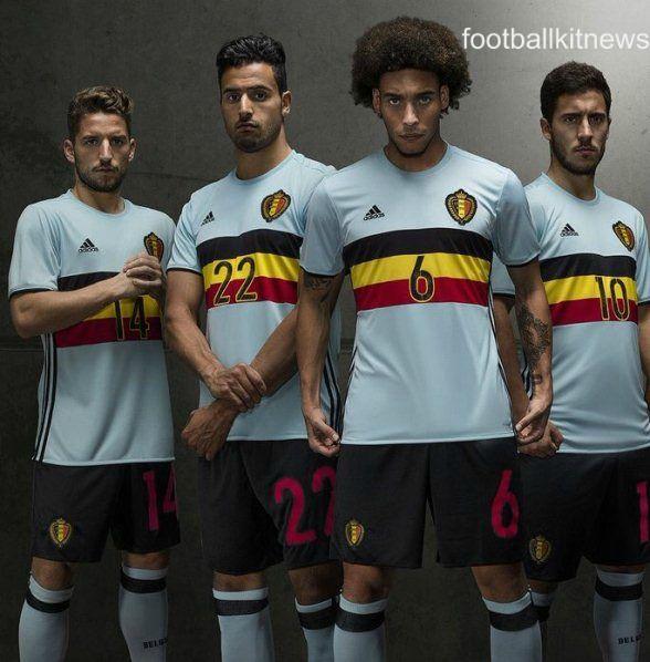 58bf613f405 Belgium Away Top Euro 2016