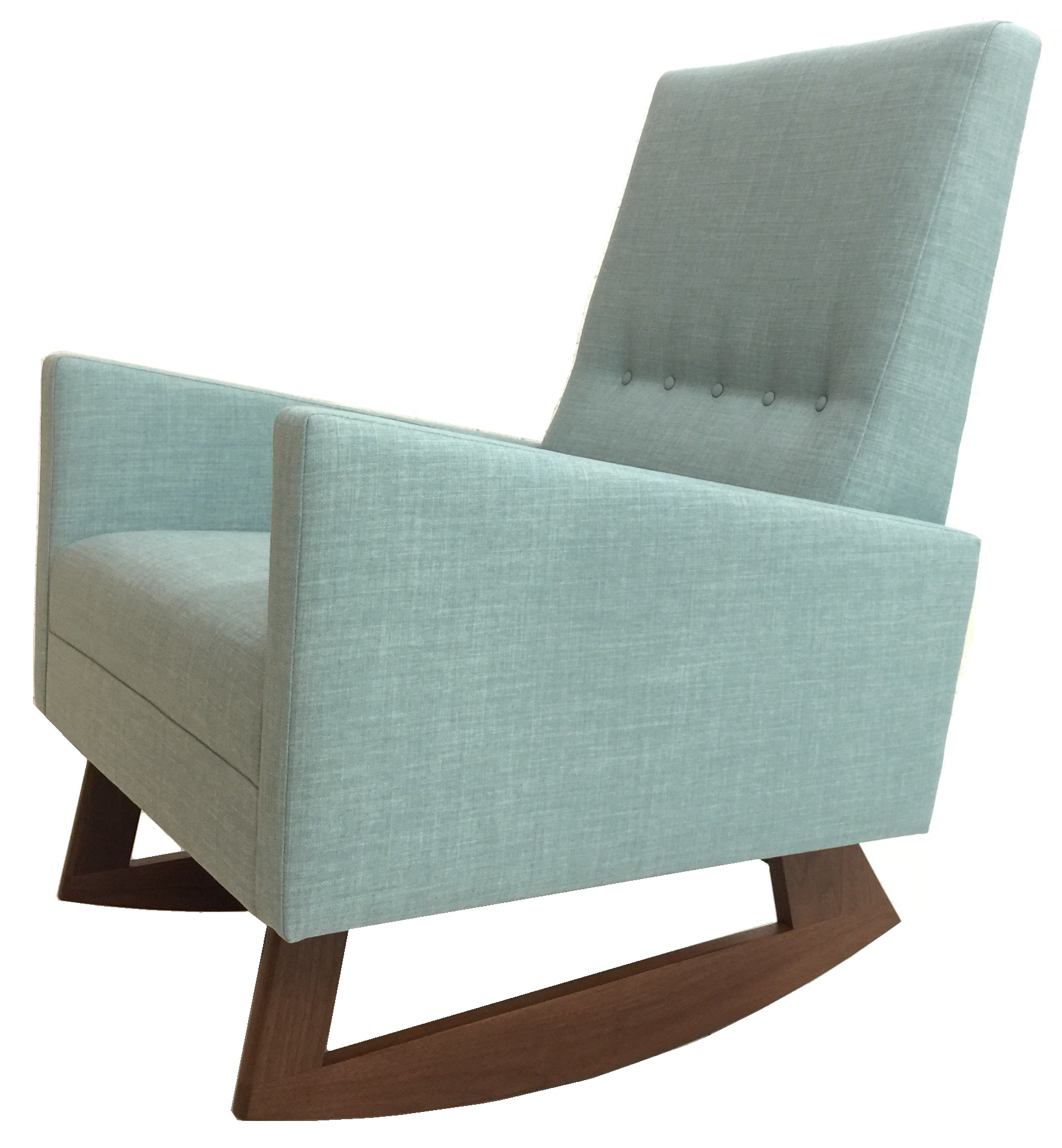 Atomic Chair Company Mid Century Modern Rocking Chair With Images