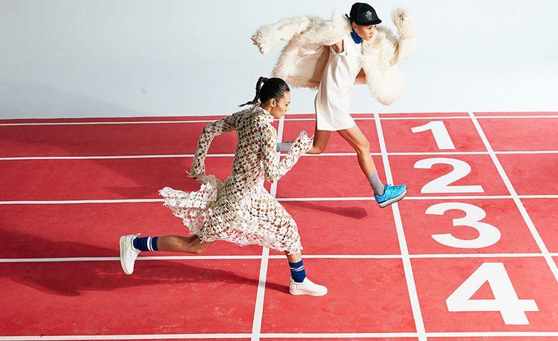Los deportes, ahora de dos en dos. © Xu Qing
