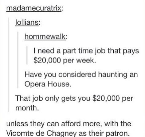 phantom of the opera tumblr yass
