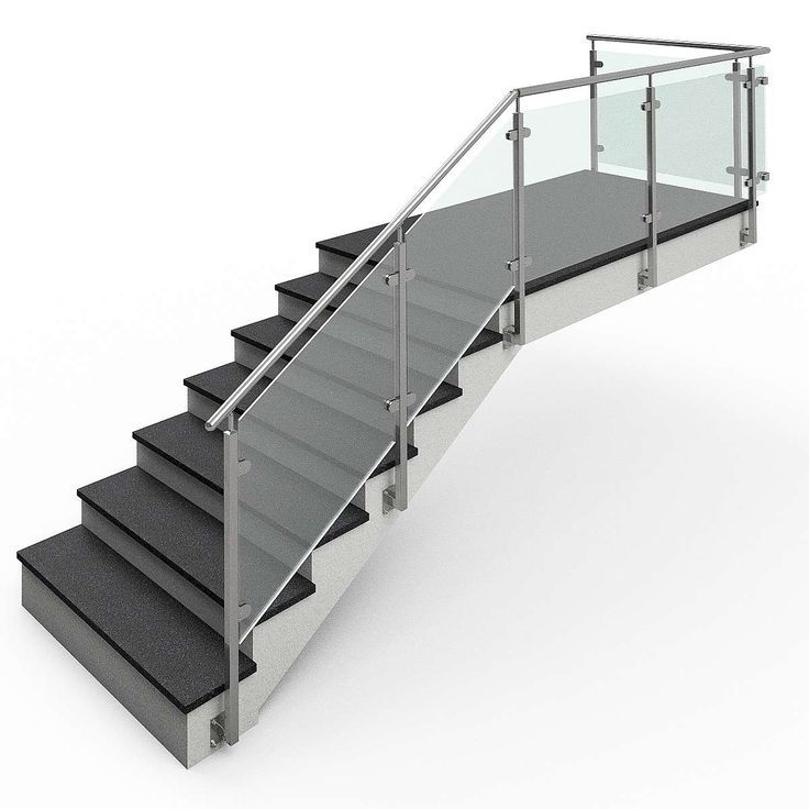 Glass Railing Stainless Steel Post Square Tube VGST-03 End ...