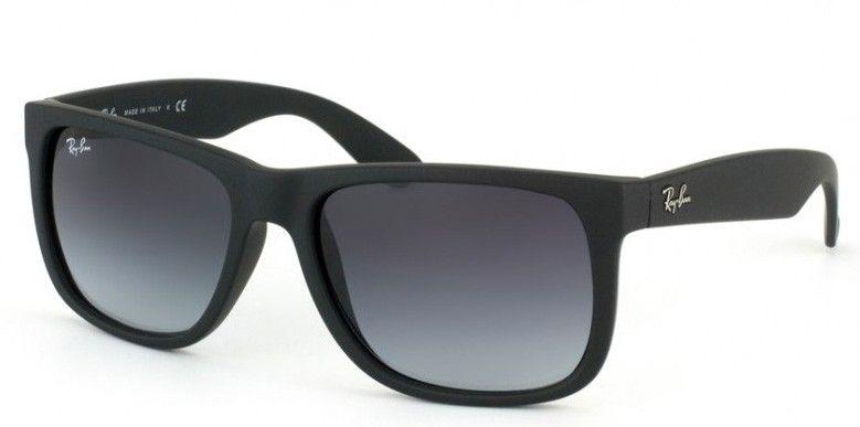 18405e4a8 RAY-BAN JUSTIN RB4165 601-8G | Clothes | Pinterest | Oculos de sol ...