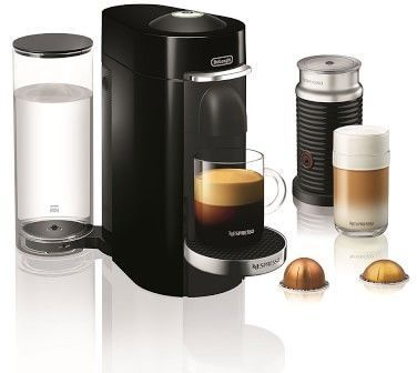 Nespresso VertuoPlus Deluxe Coffee Maker & Espresso Machine by De'Longhi with Aeroccino #espressomaker