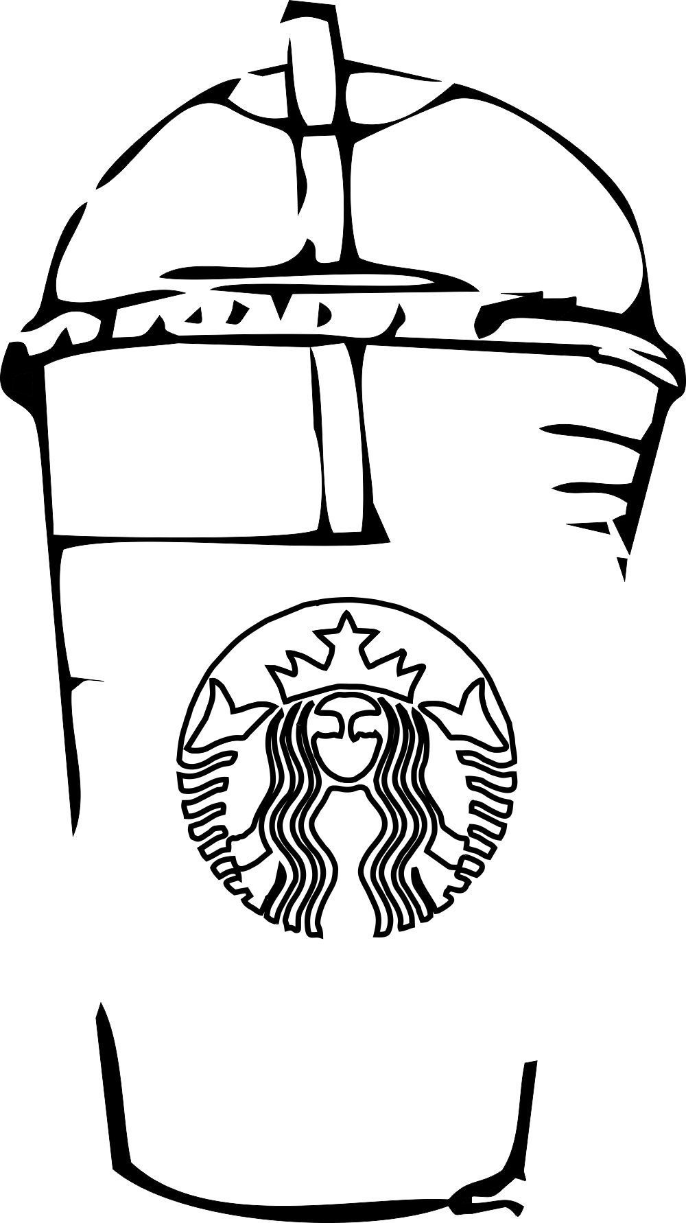 Starbucks Coloring Pages to Print coloringpagestoprint