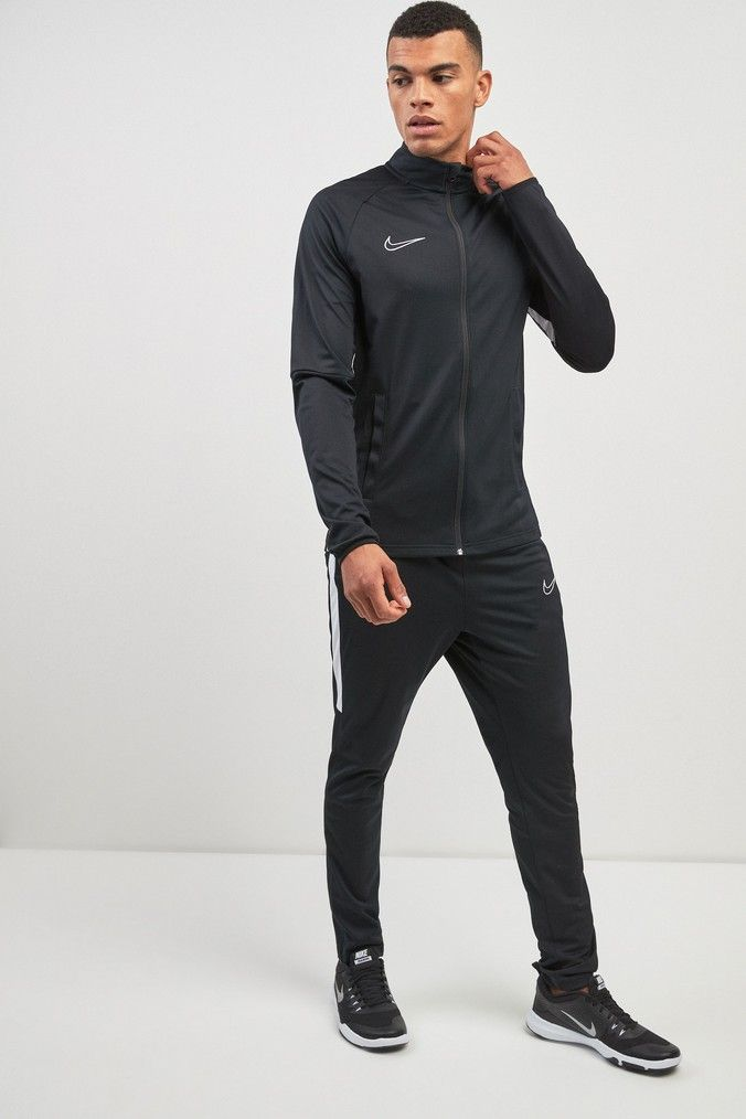 Nike Academy Tracksuit in 2020   Sport outfits, Tracksuit ...