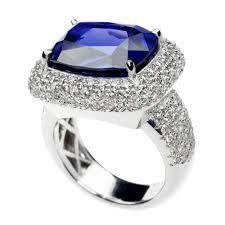 Tivon, Empress Tanzanite ring