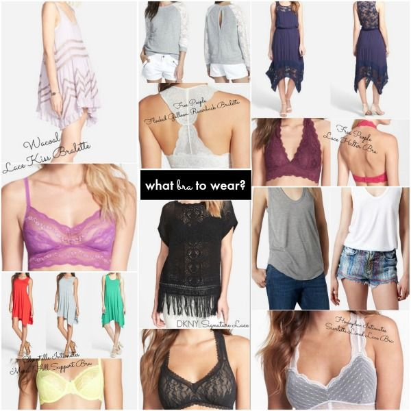 What Bra Should I Wear Lace Bras For Summer Outfits