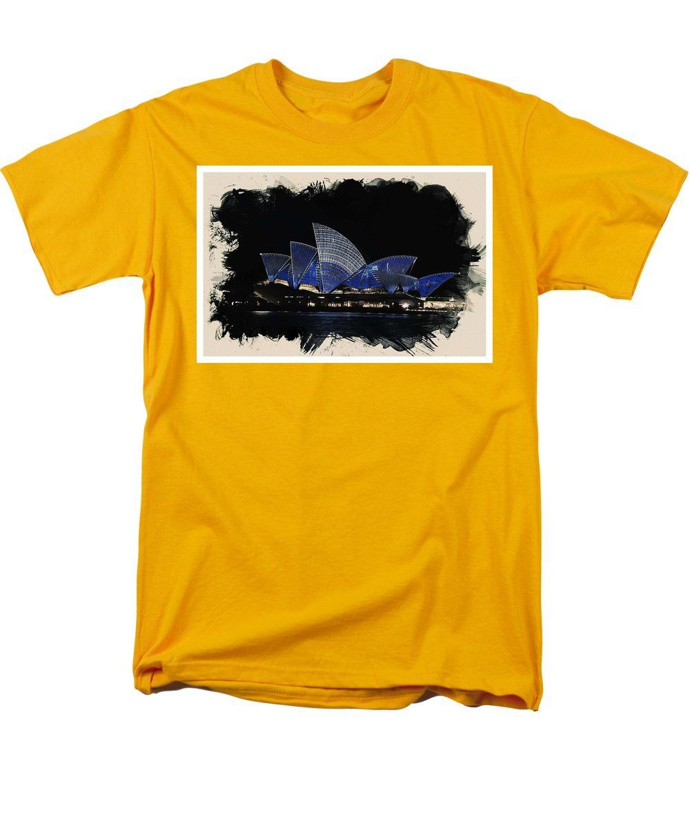 Wonders Of The Worlds - Opera House Of Sydney - Men's T-Shirt (Regular Fit)