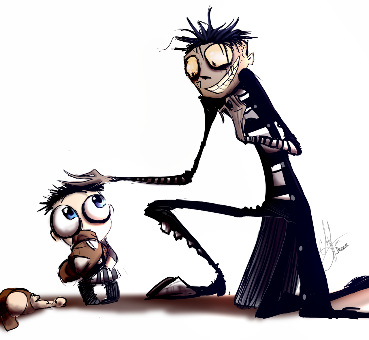 Pin de Cat Games en Johnny The Homicidal Maniac Dibujos