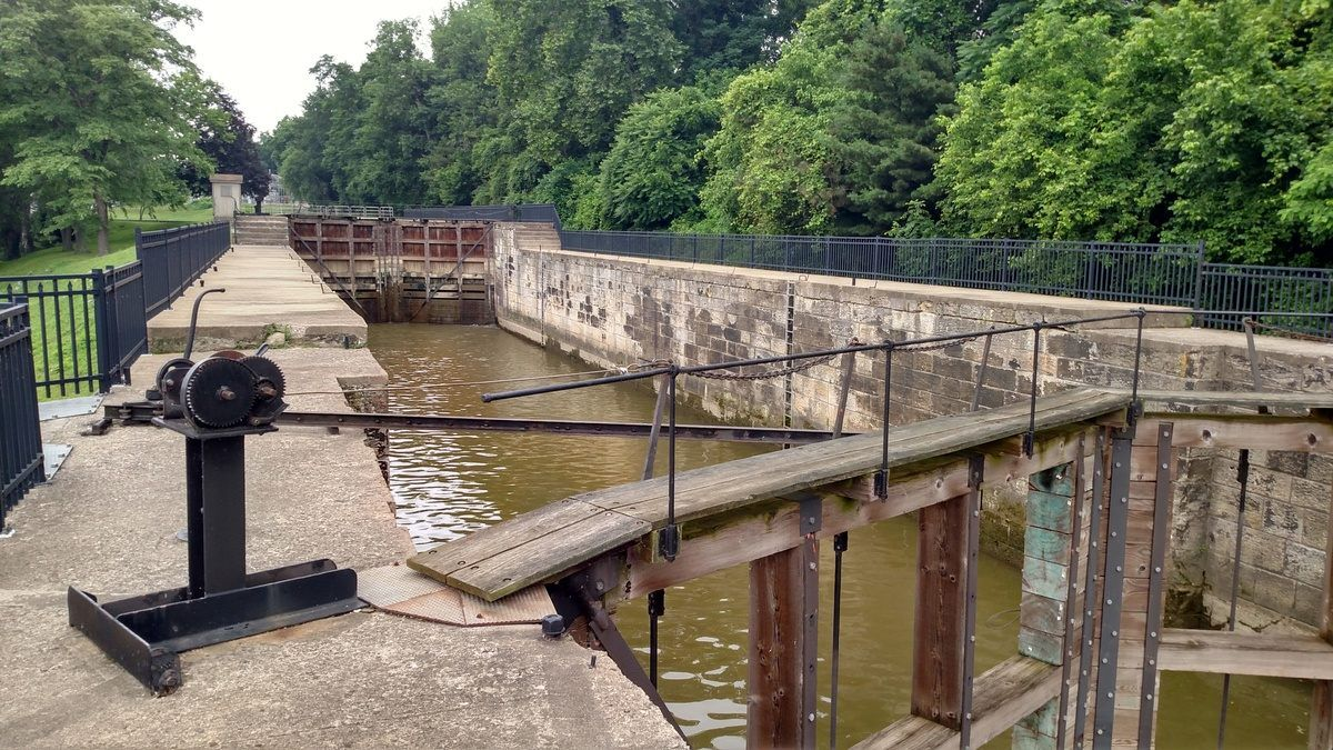 Lock 10 On The Muskingum River Ohio Places Outdoor Structures