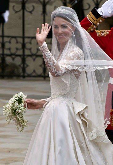 Das Brautkleid - Kate William Hochzeit | prominente in ihren ...