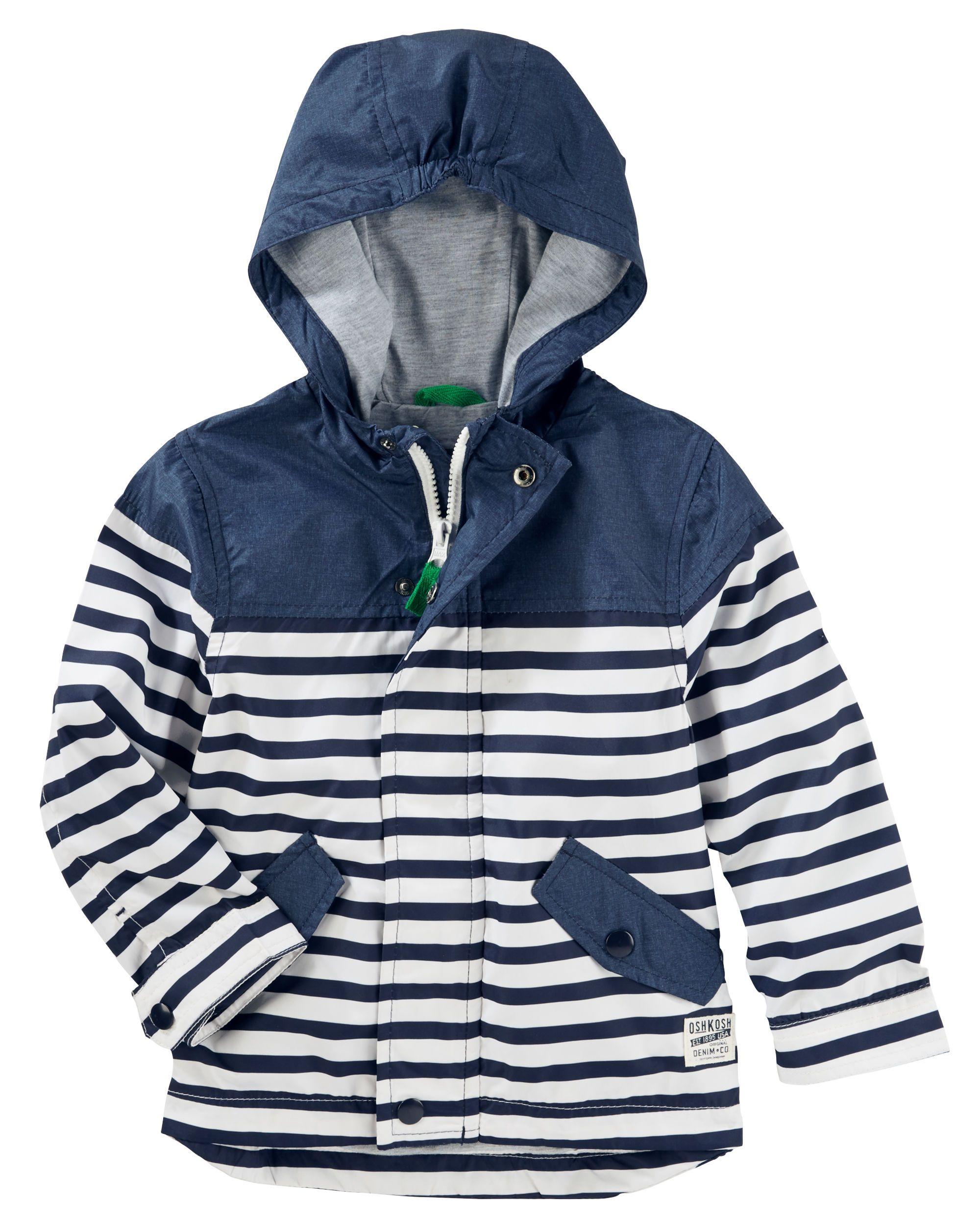 baa86b18 Lightweight Striped Windbreaker | NIELS CALDER | Spring jackets ...