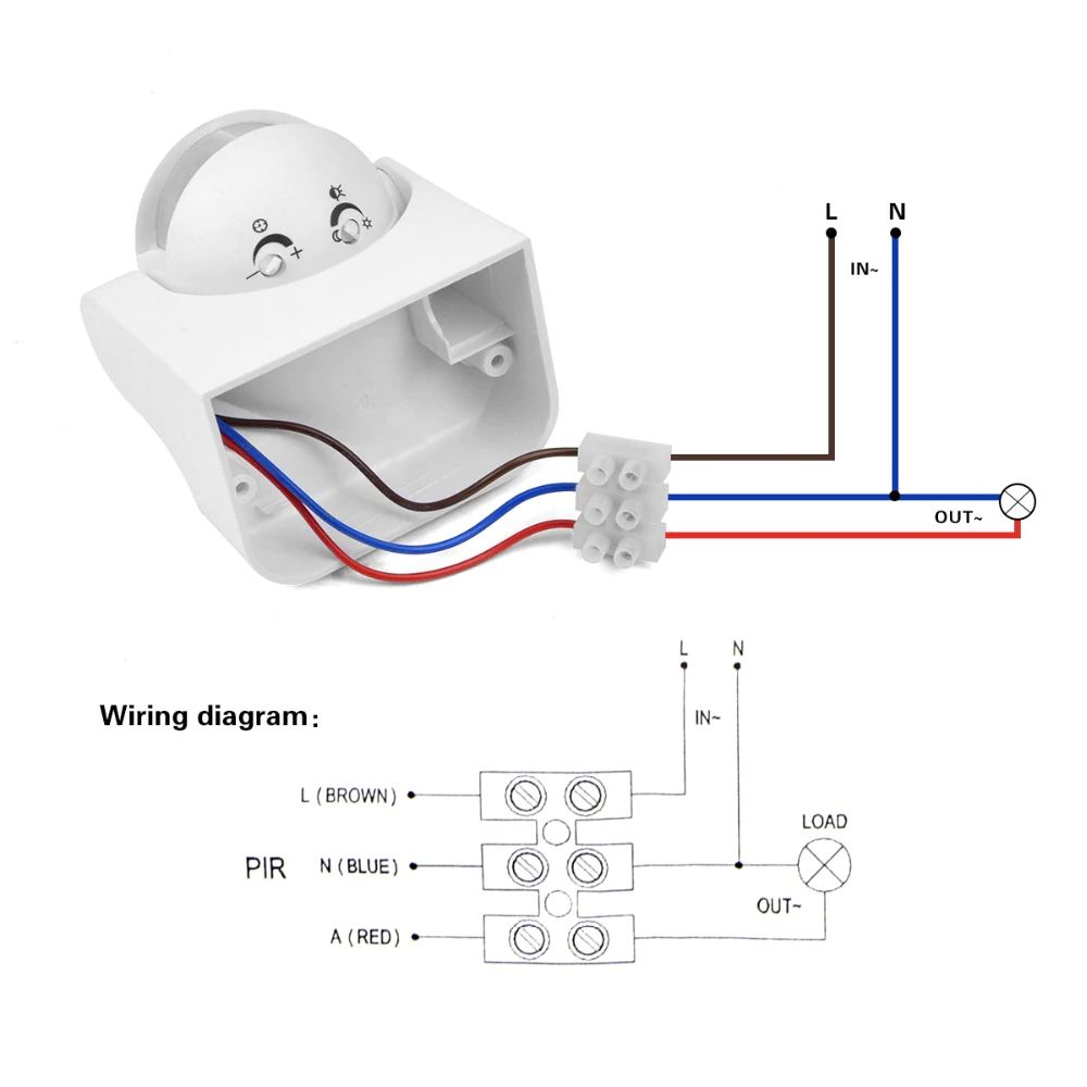 Outdoor Motion Security Light Wiring Diagram Wiring Diagram Electrical  Installation Wiring Diagram Outdoor Sensor Wiring Diagram #10 i 2020
