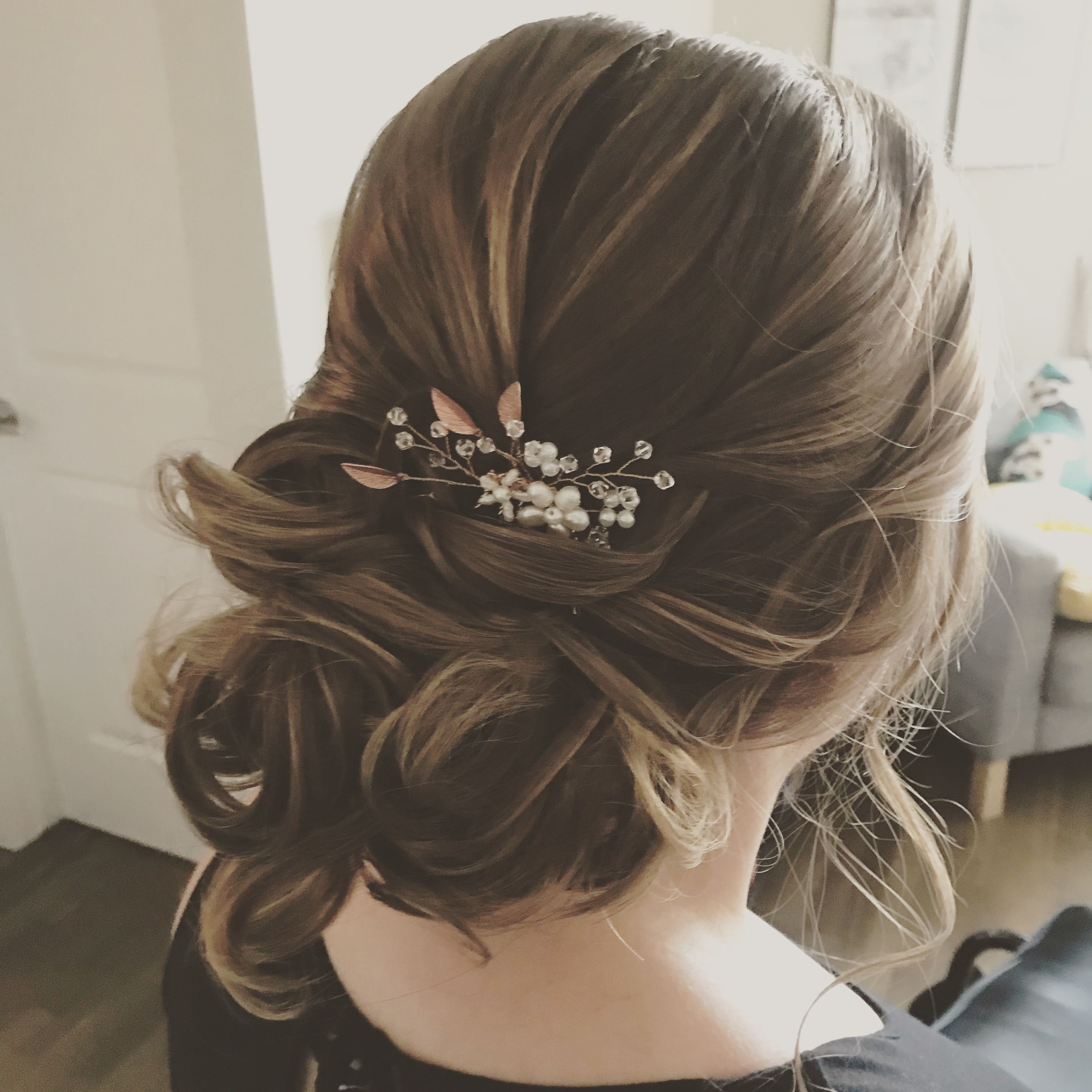 hair and makeup by beautiful calgary bride | wedding hair