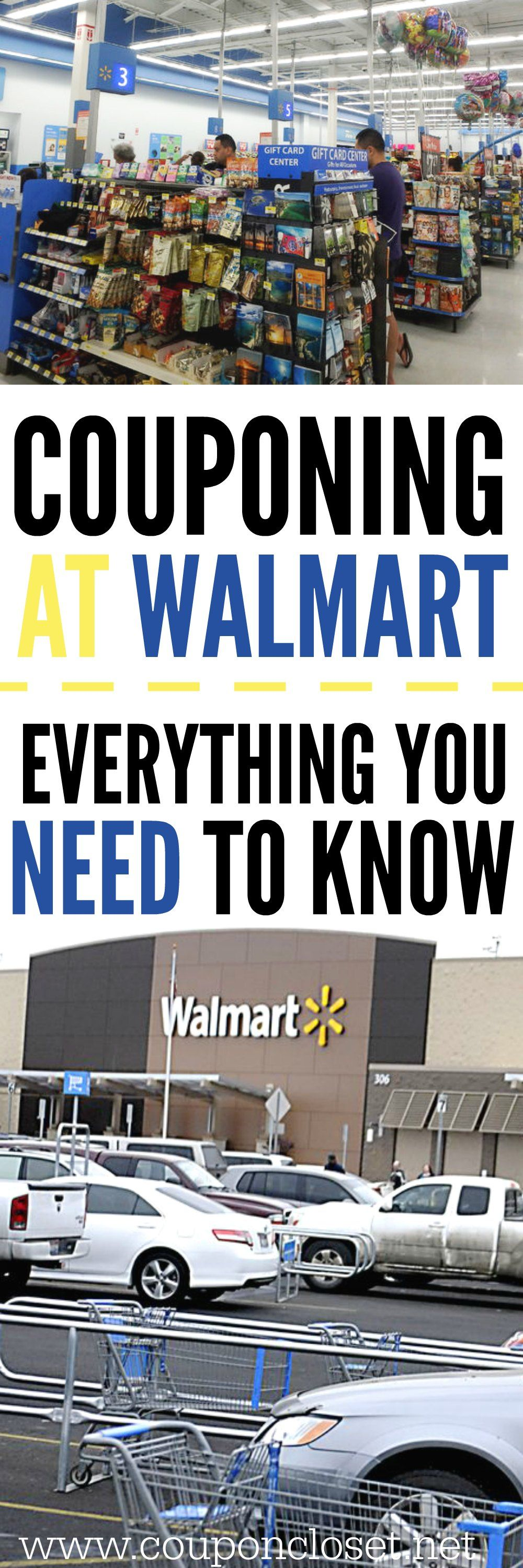 Couponing at Walmart – Tips you need to know!