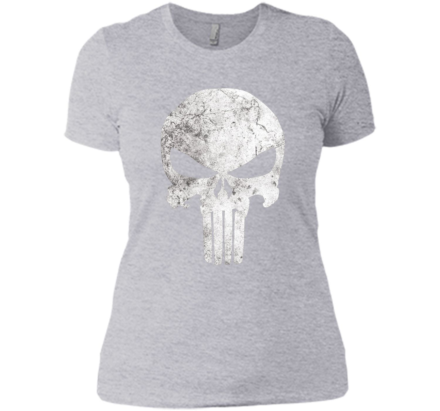 02a0c3aacda373 Marvel Punisher Retro Skull Symbol Graphic T-Shirt | Products ...