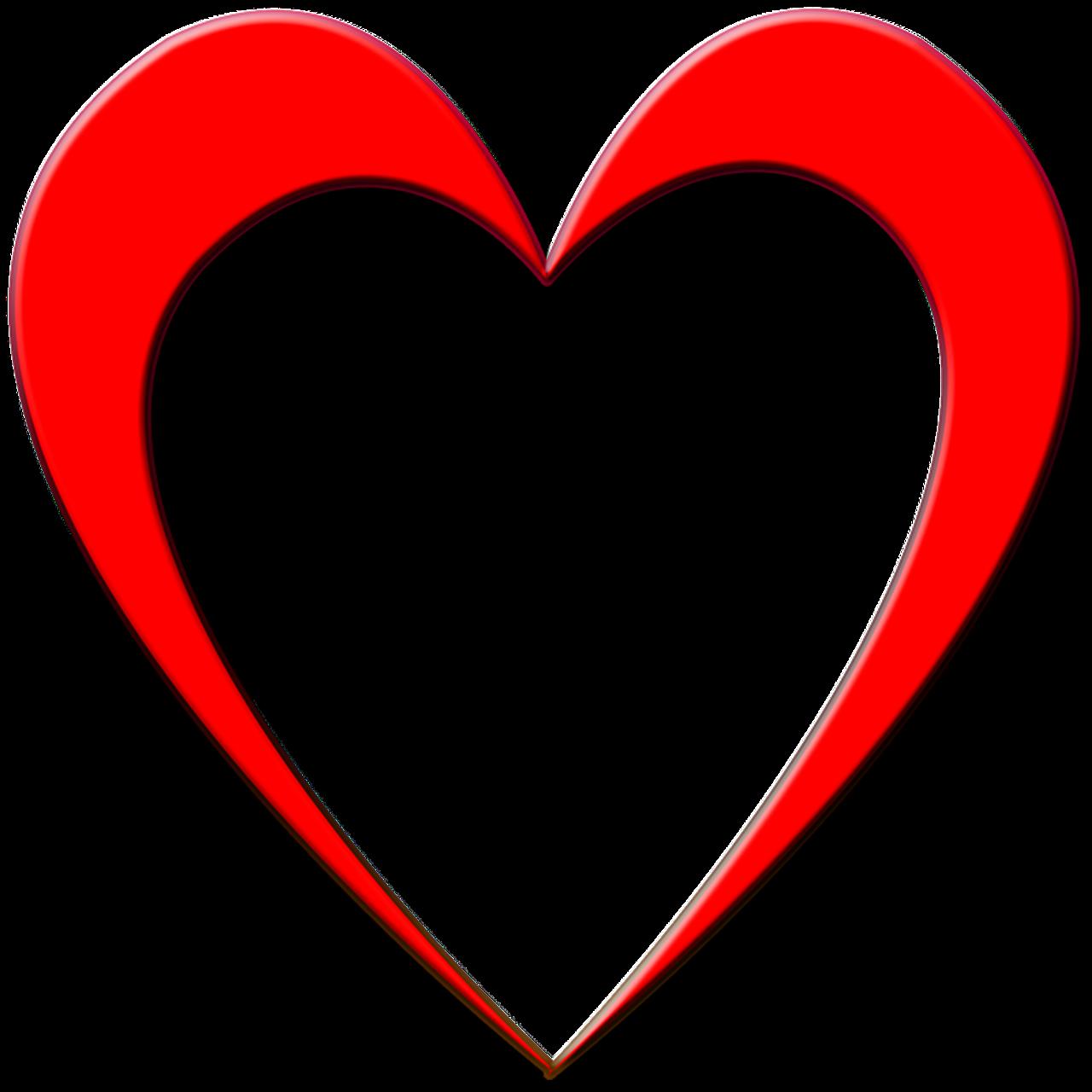 Картинка в векторе сердце