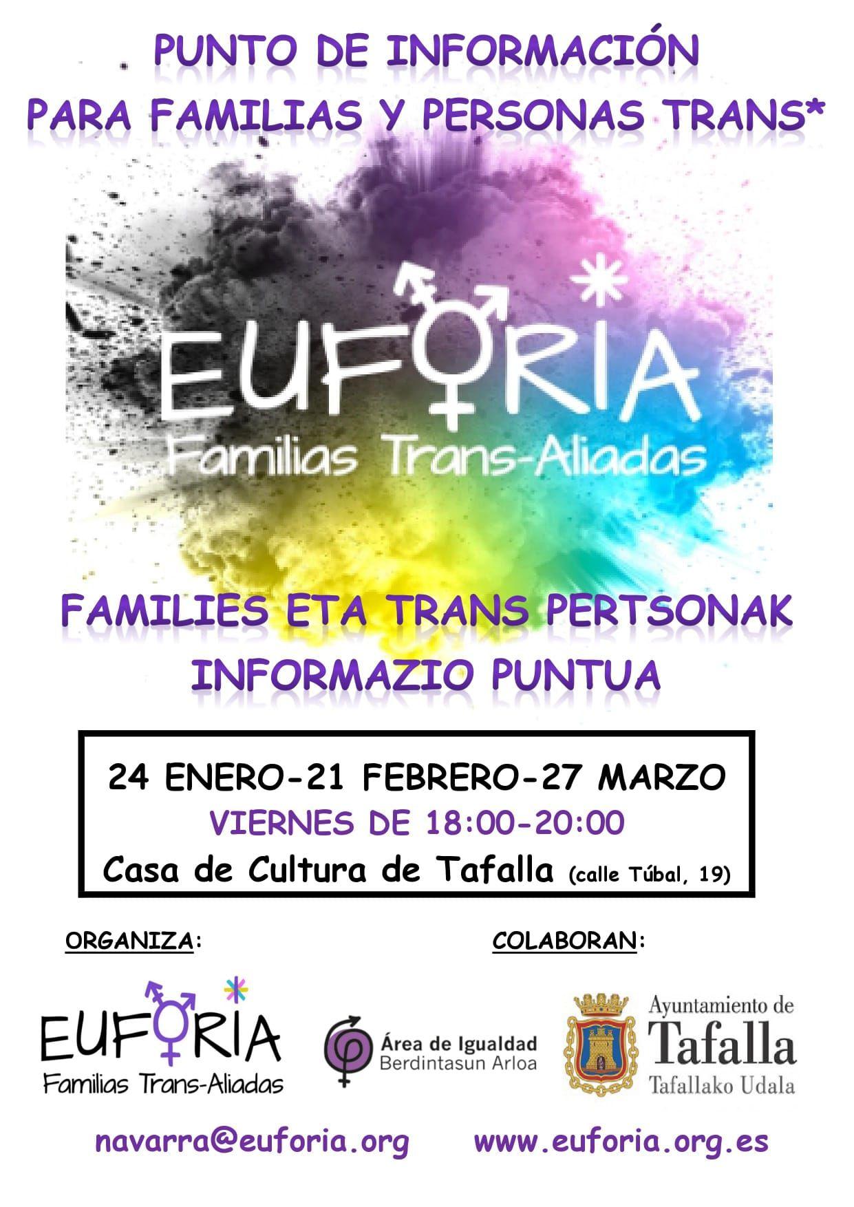 Punto de Información para Familias y Personas Trans - Tafalla