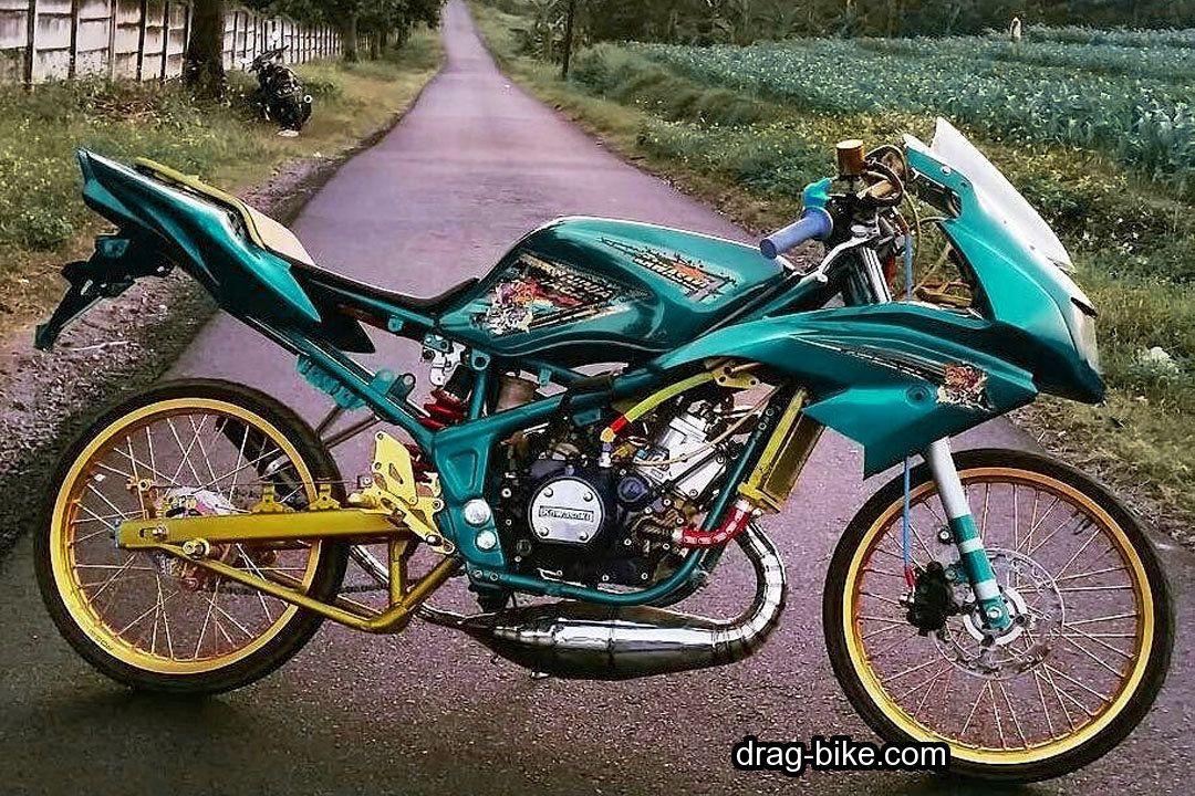 Gambar Ninja RR Modif Thailook Style Drag Bike Street Racing Kawasaki