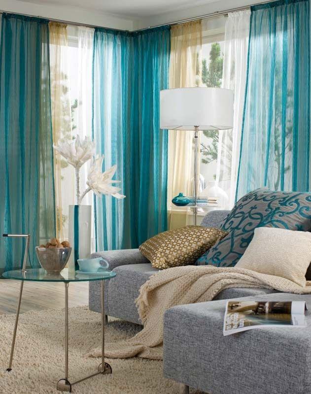Una tenda completa esteticamente un ambiente e lo rende unico, accogliente. Galleria Foto Tende Design Moderno Foto 1 Home Decor Home Living Room Inspiration