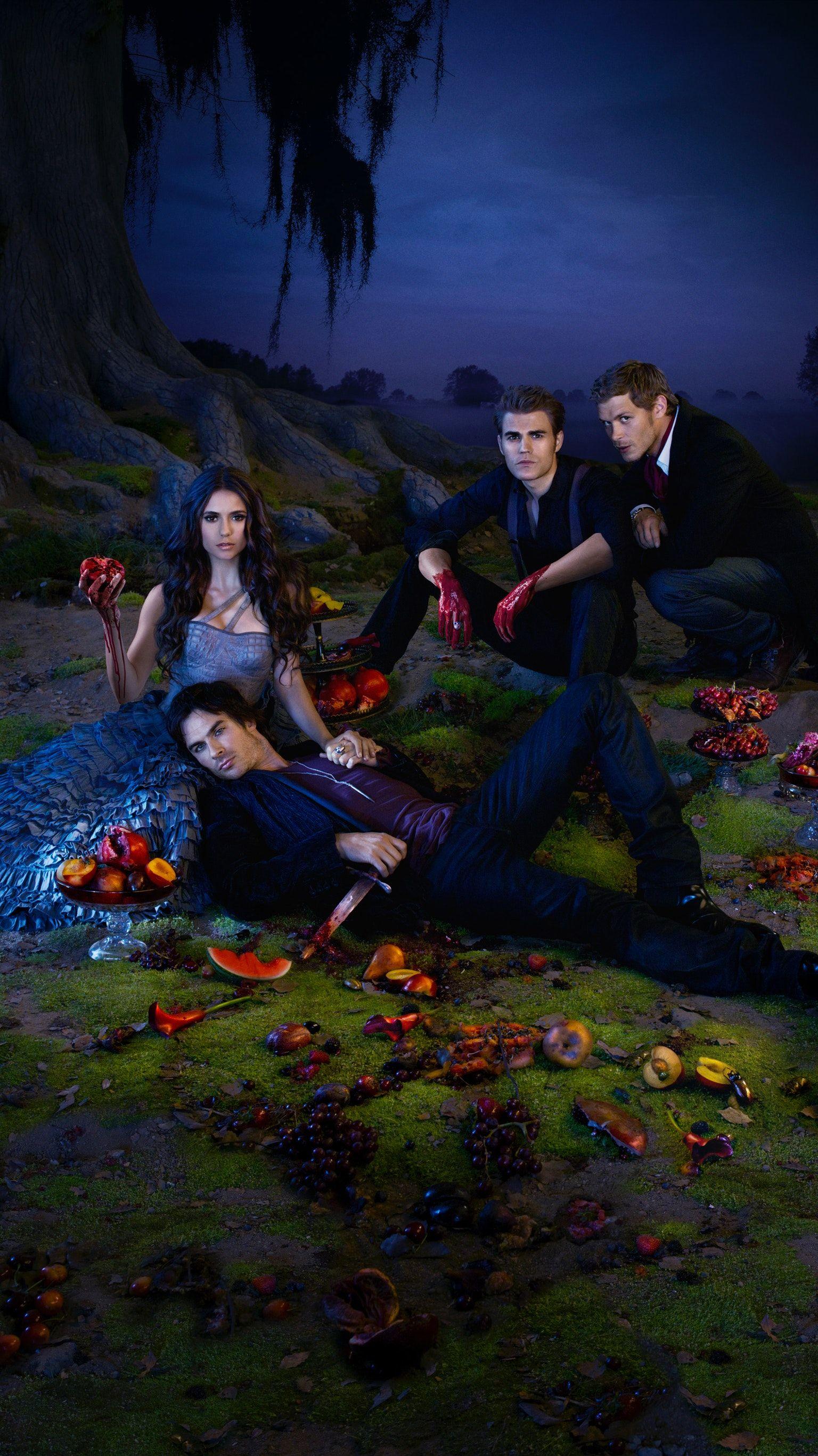 The Vampire Diaries Phone Wallpaper Vampire Diaries Memes
