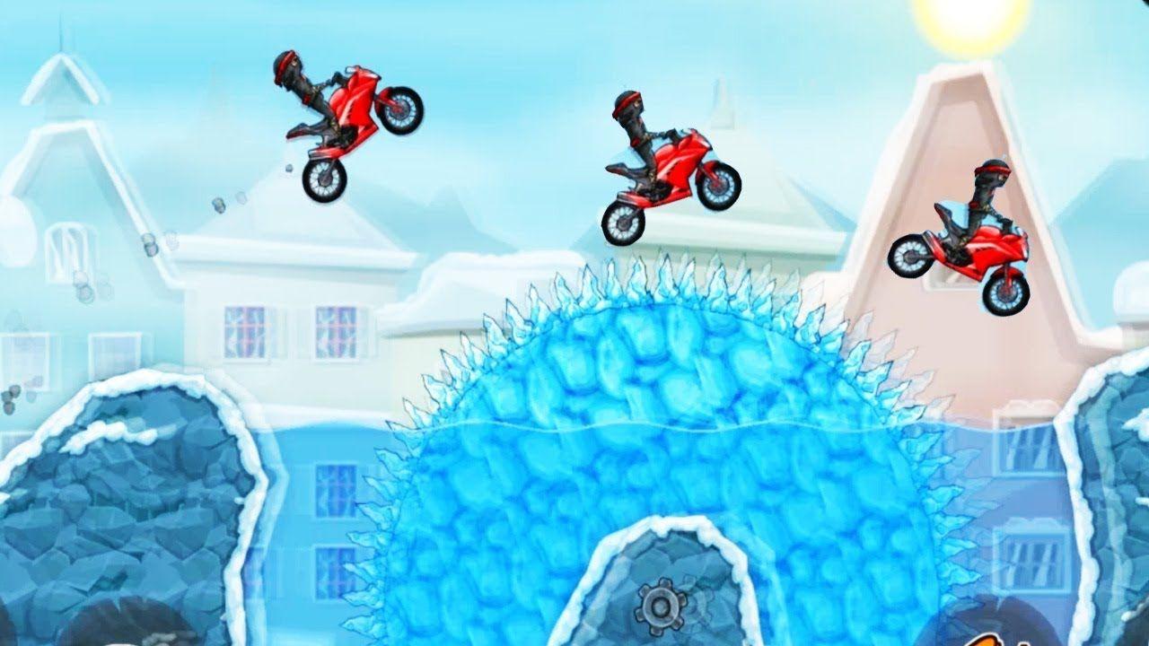 Moto X3m Winter Pack Lv1 16 Bike Racing Games Motorbike Games