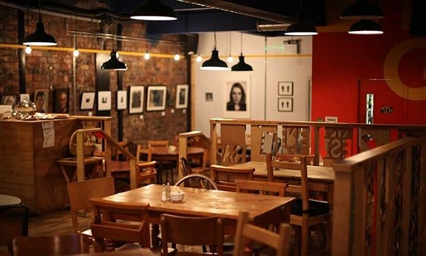 The Glad Cafe, Glasgow