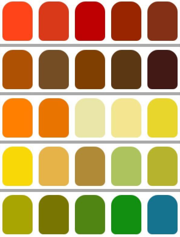 paleta de colores mujer otoo slide pinterest estacion otoo colores para y otoo
