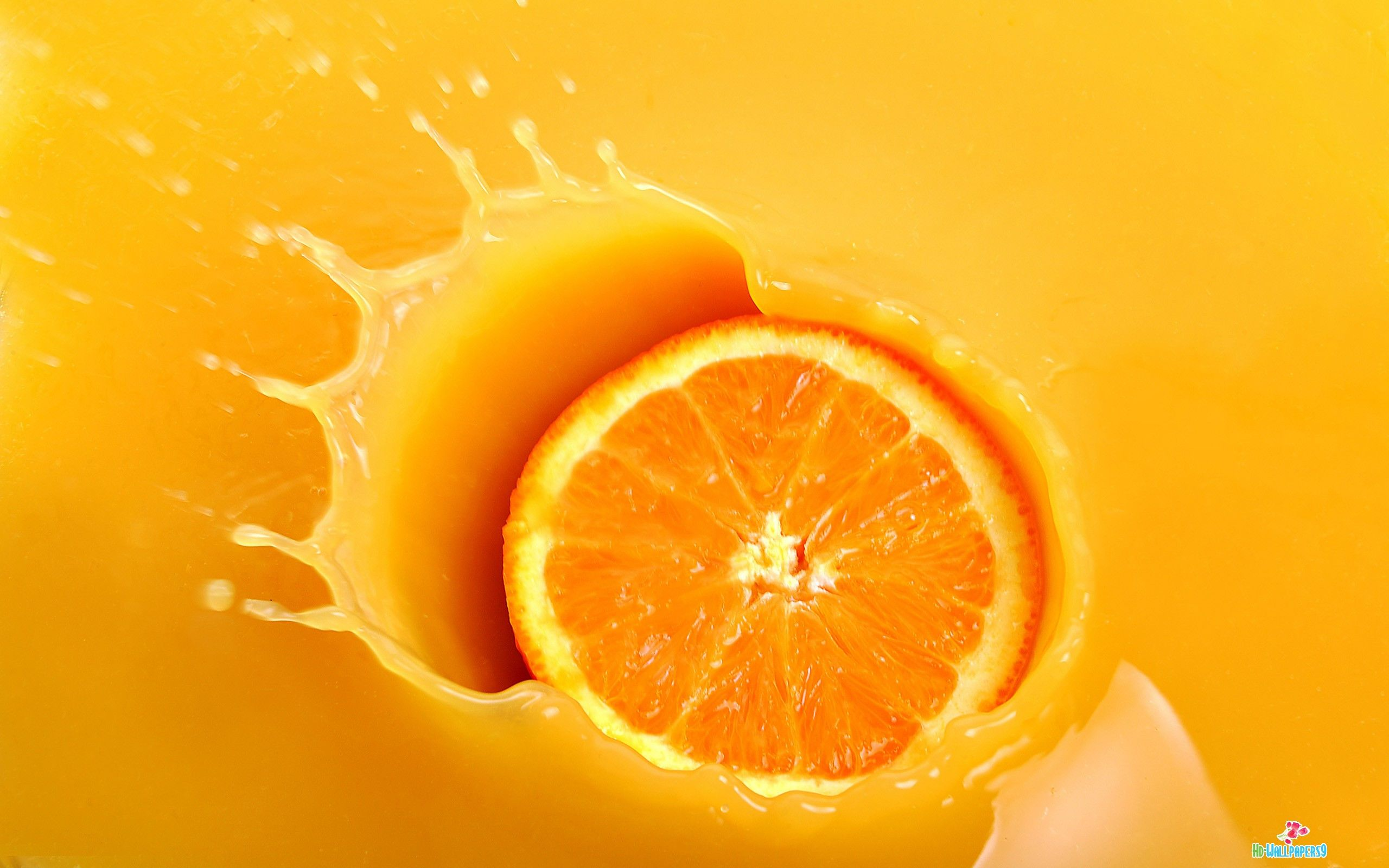 fruits 3D HD | Incredible Orange fruit hd Wallpaper Free ...