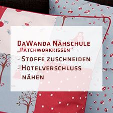 tutorial f r ein patchworkkissen mit hotelverschluss n hen pinterest n hen kissen und. Black Bedroom Furniture Sets. Home Design Ideas