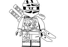 mewarn08 kleurplaat ninjago ske