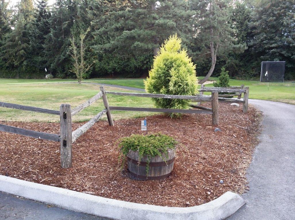 split rail fence landscaping ideas pinterest