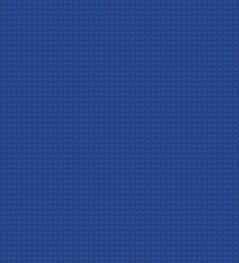 Papel pintado infantil con topitos azul marino ficha lego for Papel pintado azul