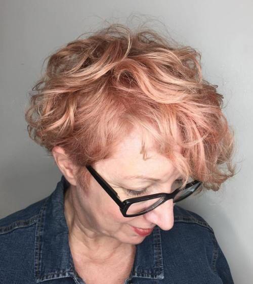 20 frisuren für dünne lockige haare, die einfach