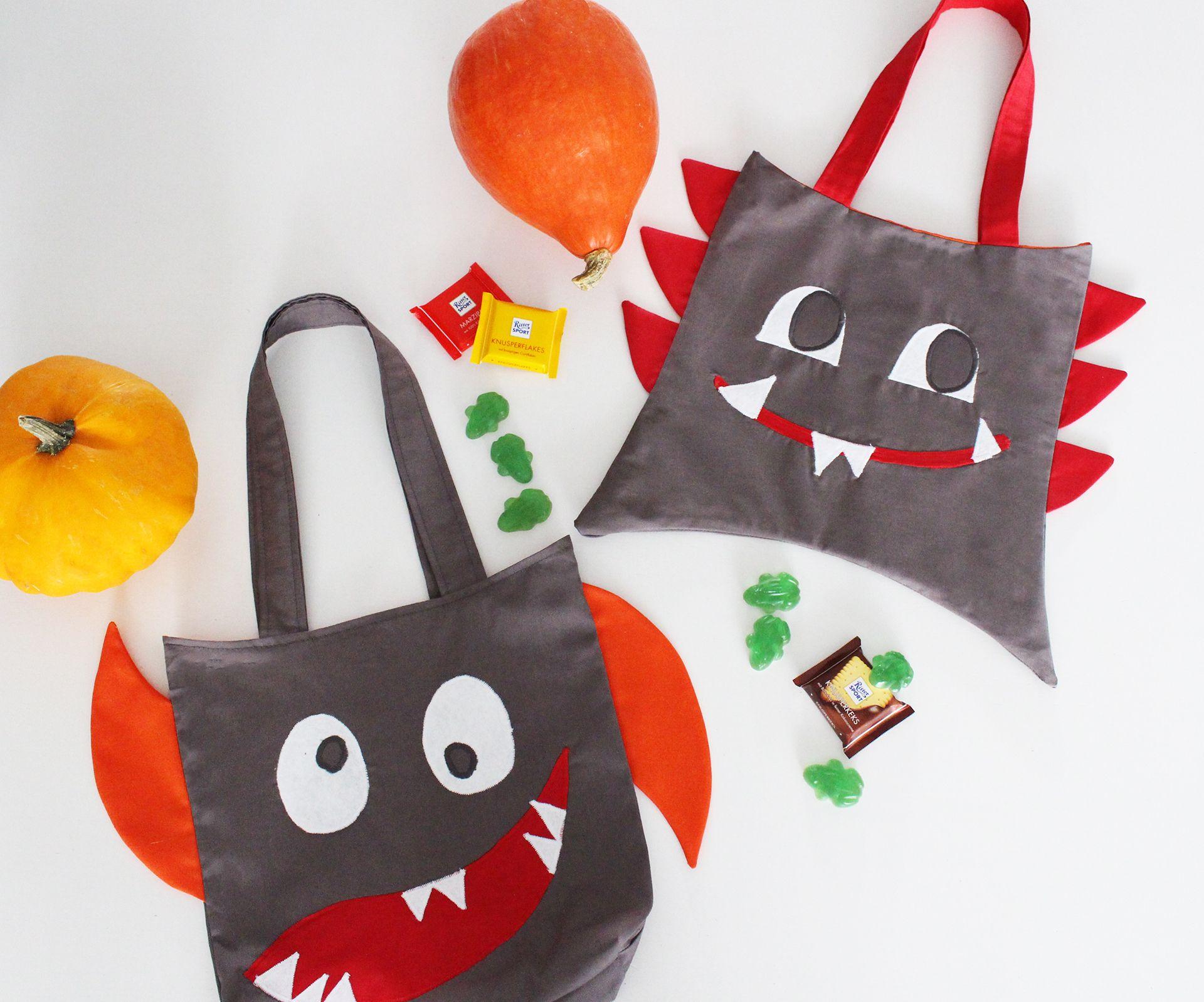 Freebook Monsterbag - Süßigkeitentasche für Halloween ...