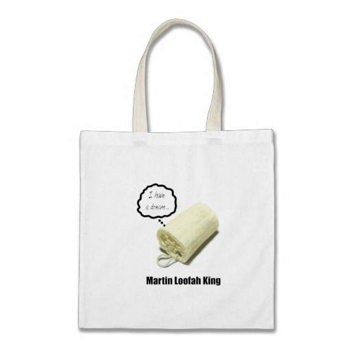 Martin Loofah King: I have a dream, Tote Bag http://www.zazzle.com/martin_loofah_king_tote_bag-149944738726533899?rf=238175561018978133