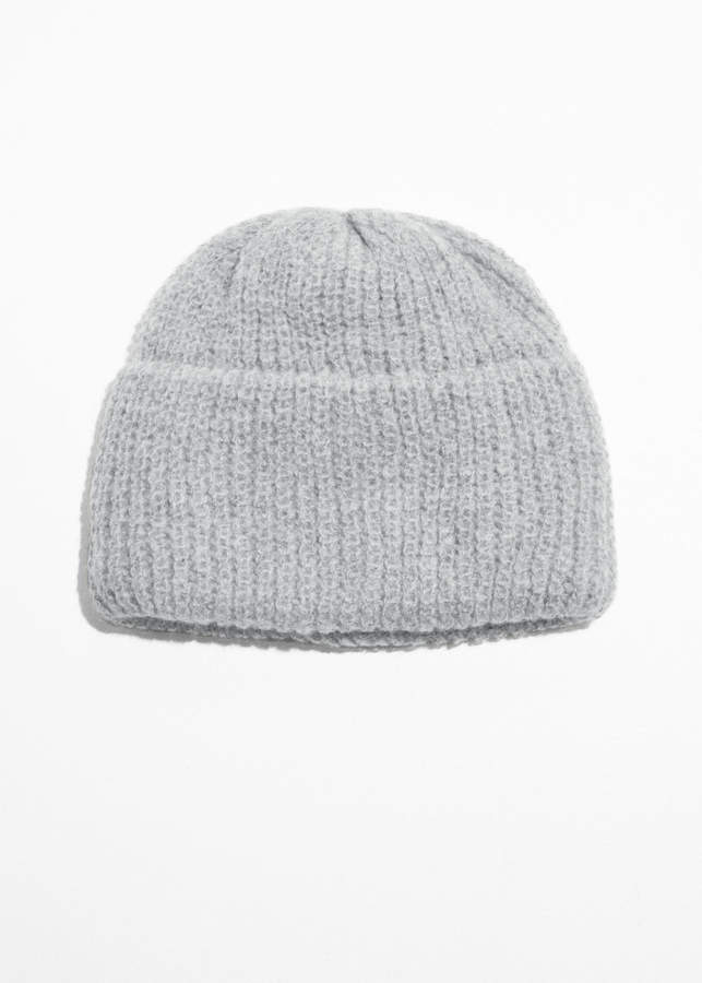 802d7038 And other stories Rib Knit Beanie | Products | Knit beanie, Beanie ...