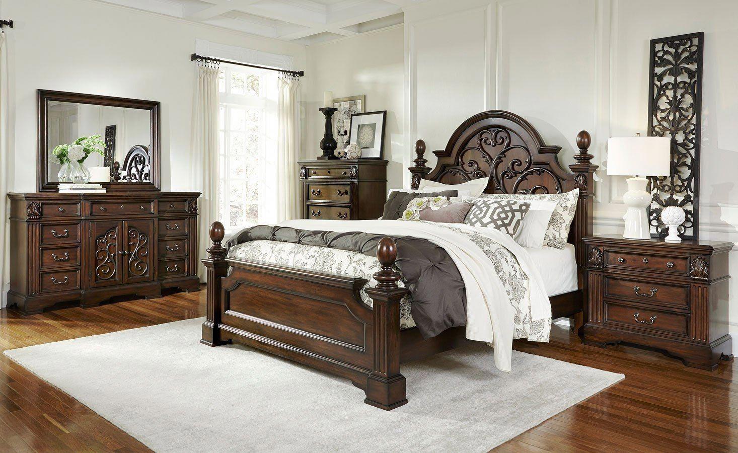 Bedroom Set Queen 5 Pieces Furnituresemarang Bedroomsets In 2020