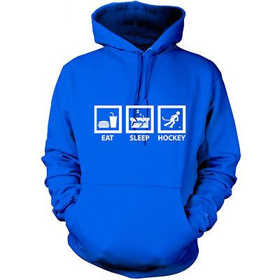 Eat #sleep ice hockey #unisex hoodie - #hooded top / jersey s-xxl - 9 colours,  View more on the LINK: 	http://www.zeppy.io/product/gb/2/190810720759/