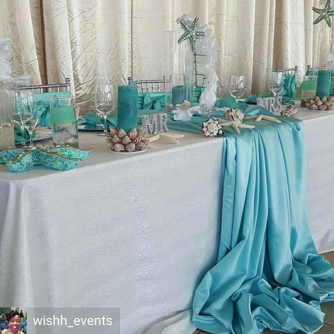 Eventorganizer With Images Beach Wedding Tables Beach Theme
