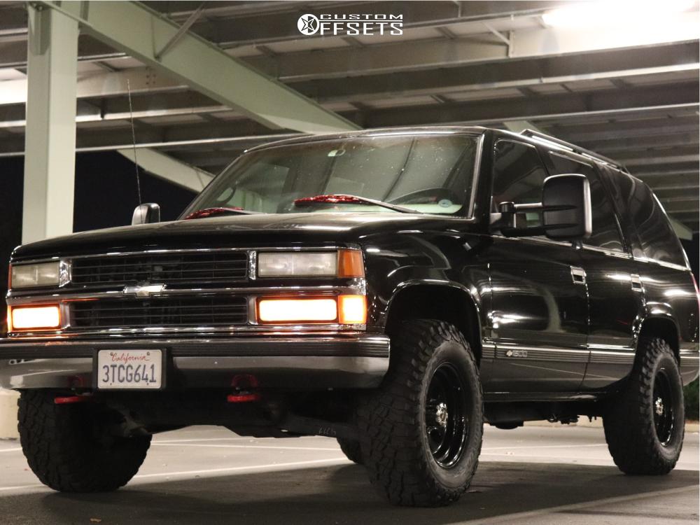 1 1996 Tahoe Chevrolet Stock Air Suspension Vision Soft 8 Black Chevrolet Tahoe Chevy Tahoe Custom Chevy Trucks