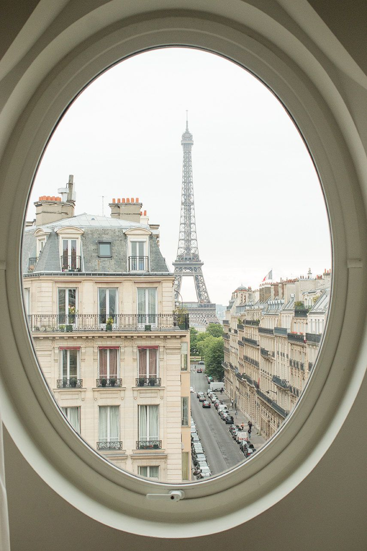 Paris Eiffel Tower View Windows