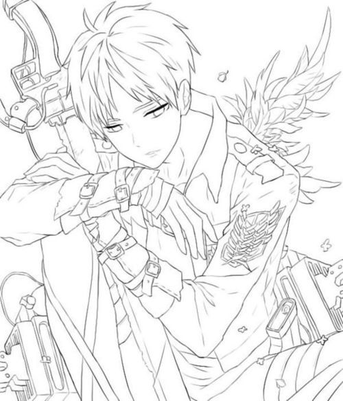 Anime Chico And Lineart Image Anime Lineart Anime Drawings Tutorials Anime Character Drawing