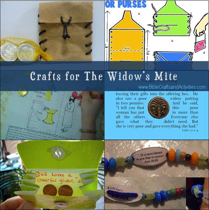Crafts for The Widow's Mite - Bible Crafts and Activities ...