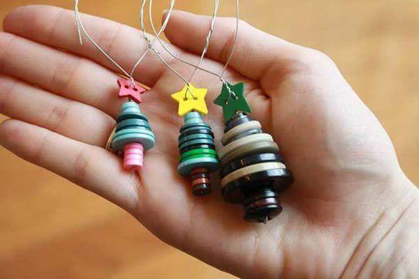 bastelideen zu weihnachten weihnachtsanhänger