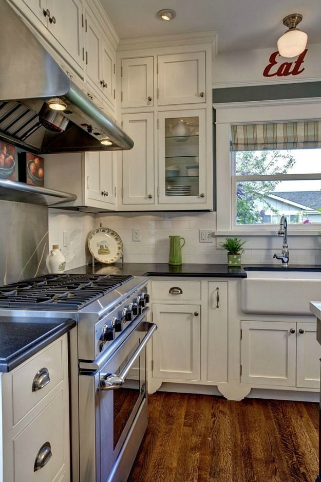 Pin By Cathy O On Kitchen Ideas Craftsman Kitchen Bungalow