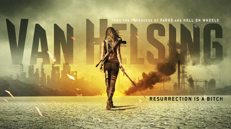 Check out new art for Syfy's upcoming series Van Helsing. What do you think? Will you watch?